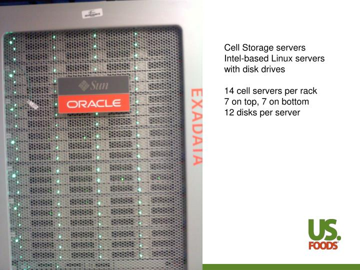 Cell Storage servers