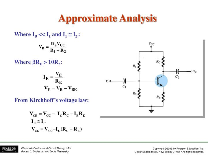 Approximate Analysis