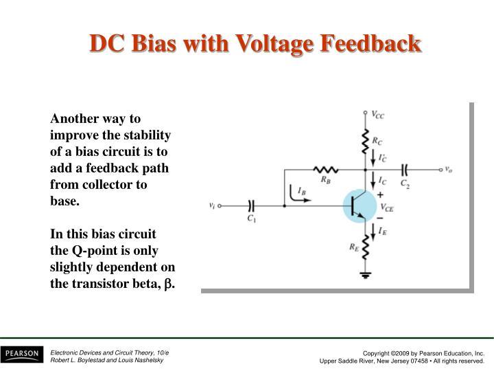 DC Bias with Voltage Feedback
