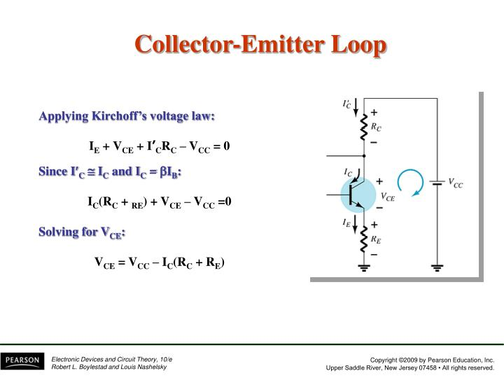 Collector-Emitter Loop