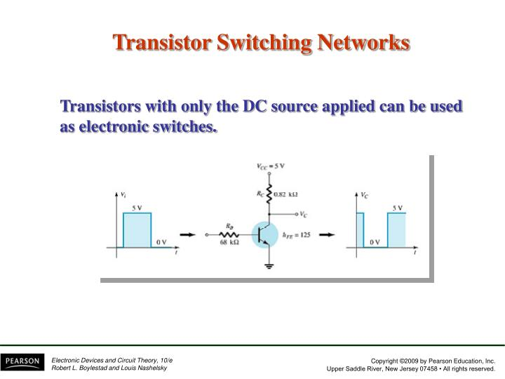 Transistor Switching Networks
