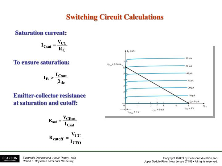 Switching Circuit Calculations