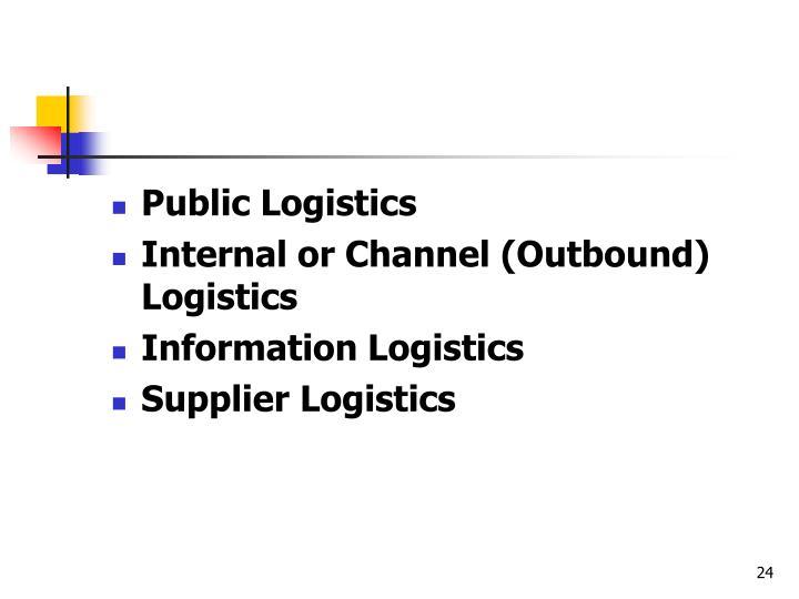 Public Logistics