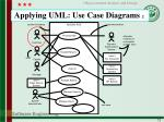 applying uml use case diagrams 2