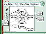 applying uml use case diagrams 3