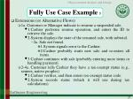 fully use case example 5