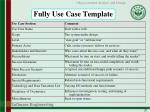 fully use case template