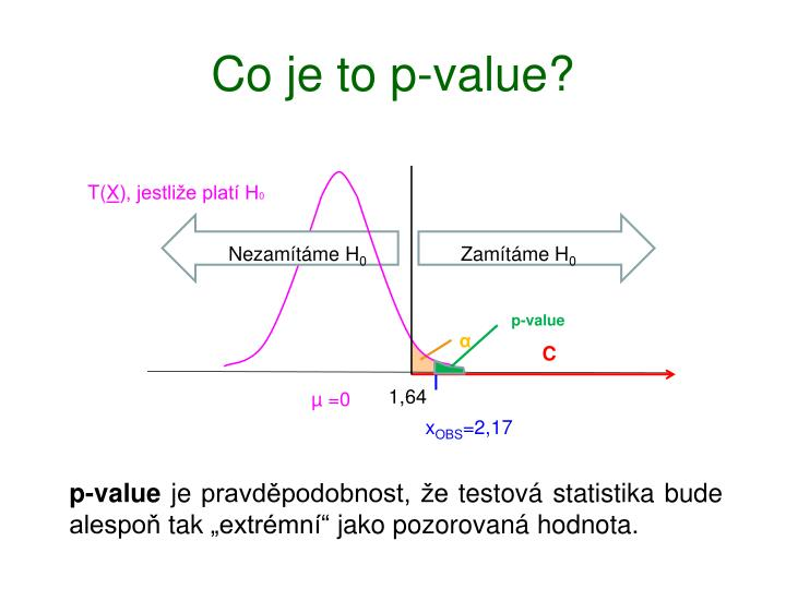 Co je to p-value?