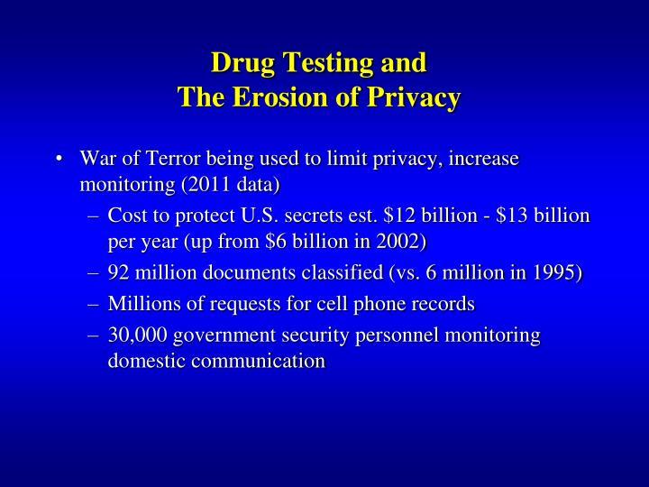 Drug Testing and