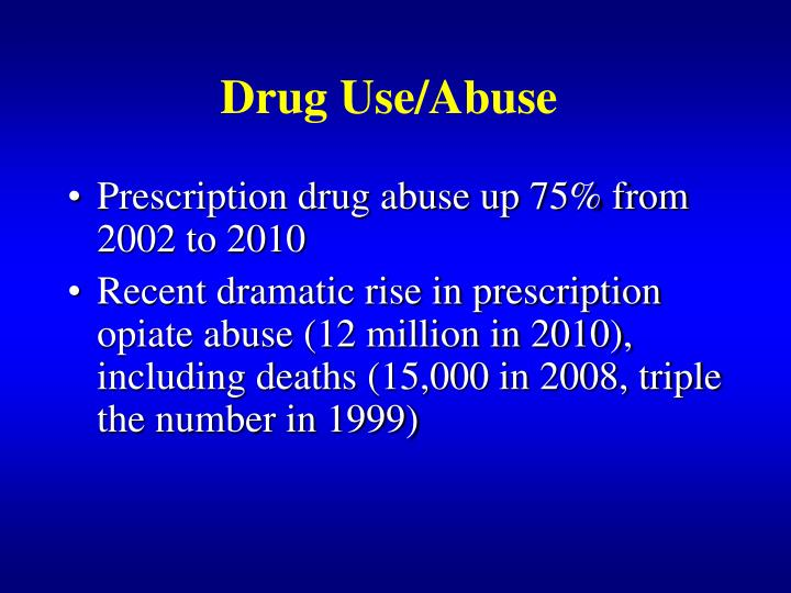 Drug Use/Abuse