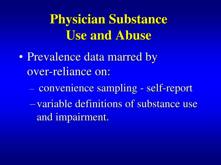 Physician Substance