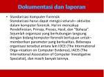 dokumentasi dan laporan3