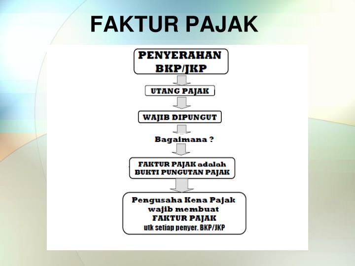 FAKTUR PAJAK