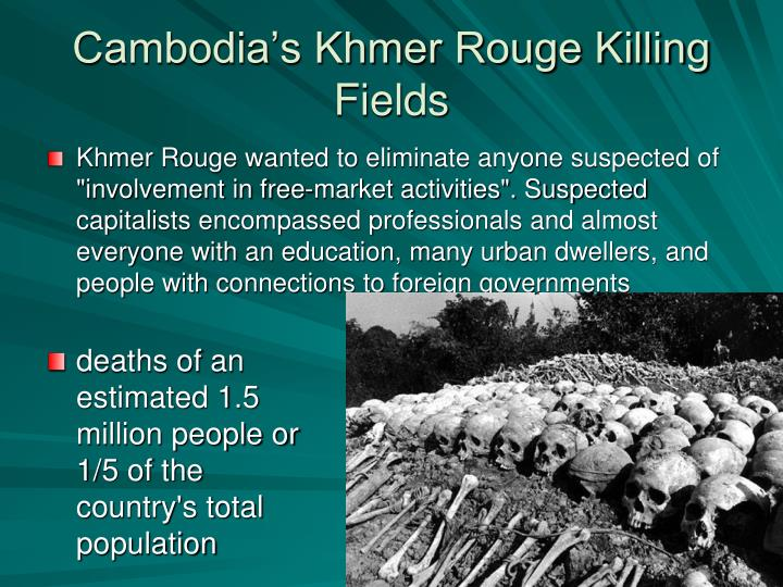 Cambodia's Khmer Rouge Killing Fields