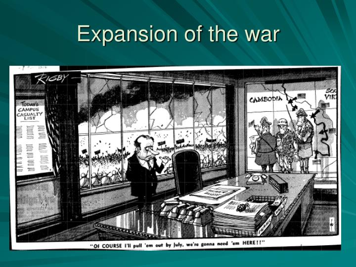 Expansion of the war