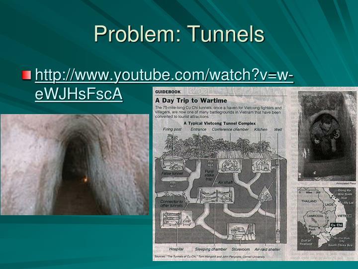 Problem: Tunnels