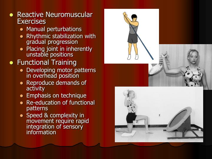 Reactive Neuromuscular Exercises