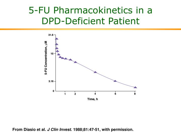 5-FU Pharmacokinetics in a