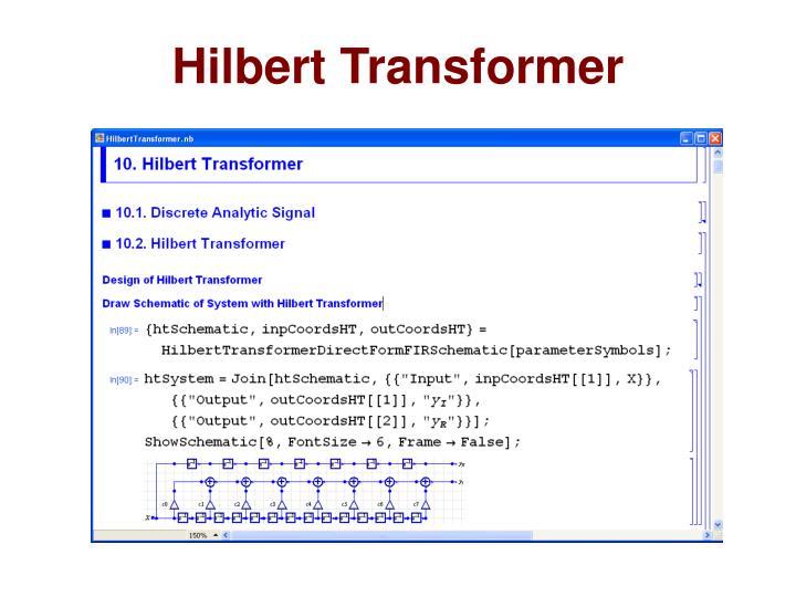 Hilbert Transformer