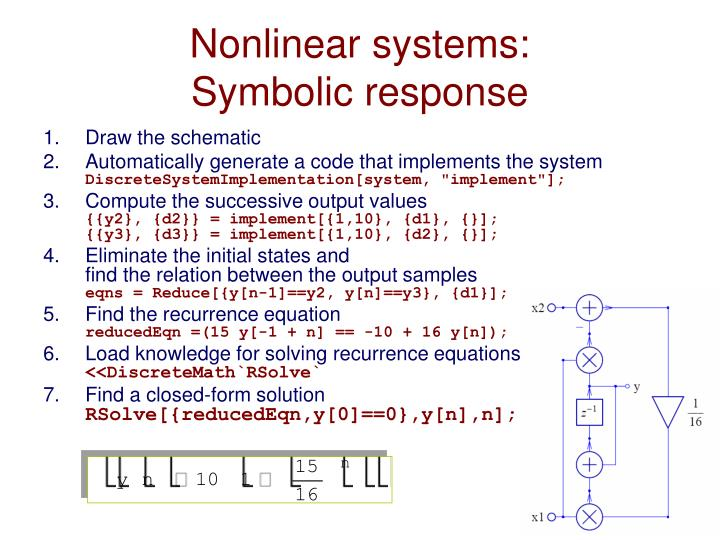 Nonlinear systems: