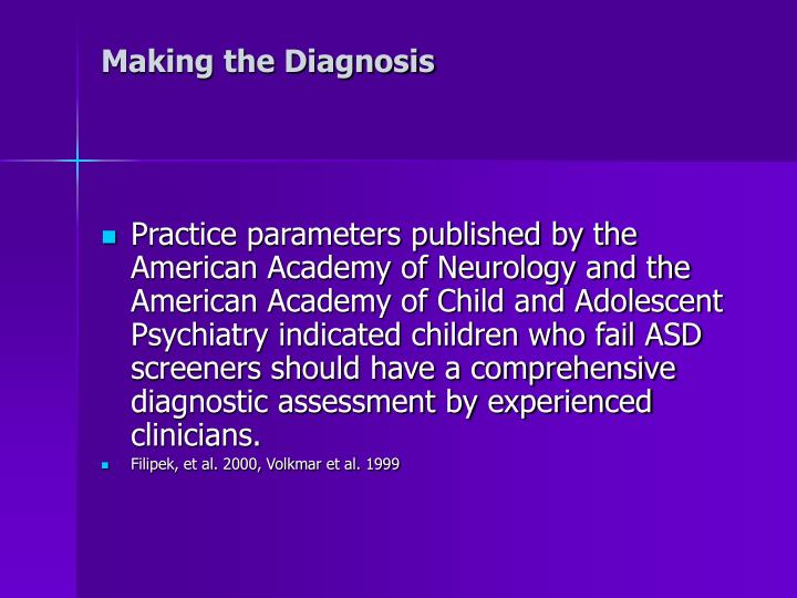Making the Diagnosis