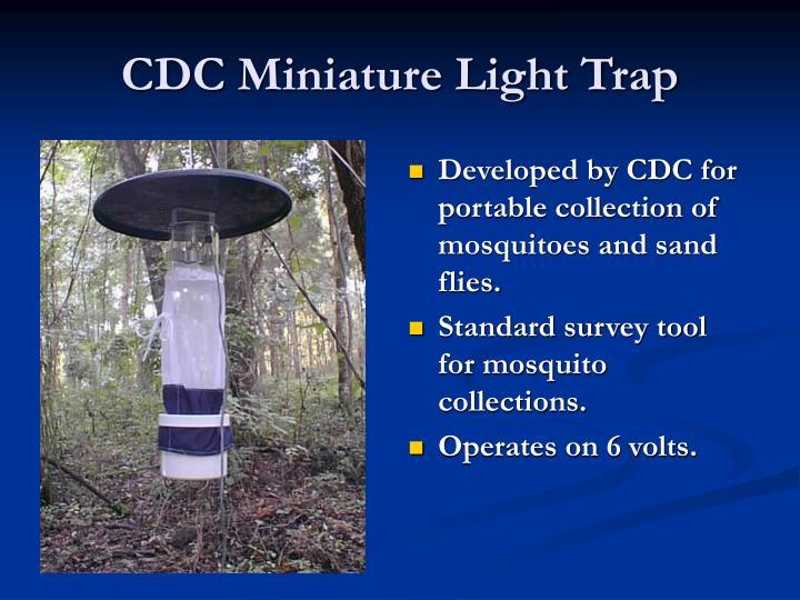 CDC Miniature Light Trap