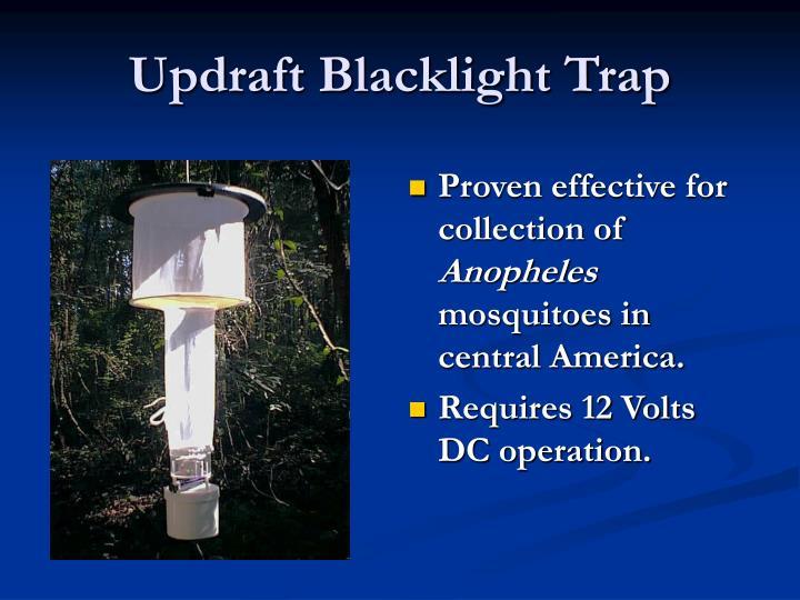 Updraft Blacklight Trap