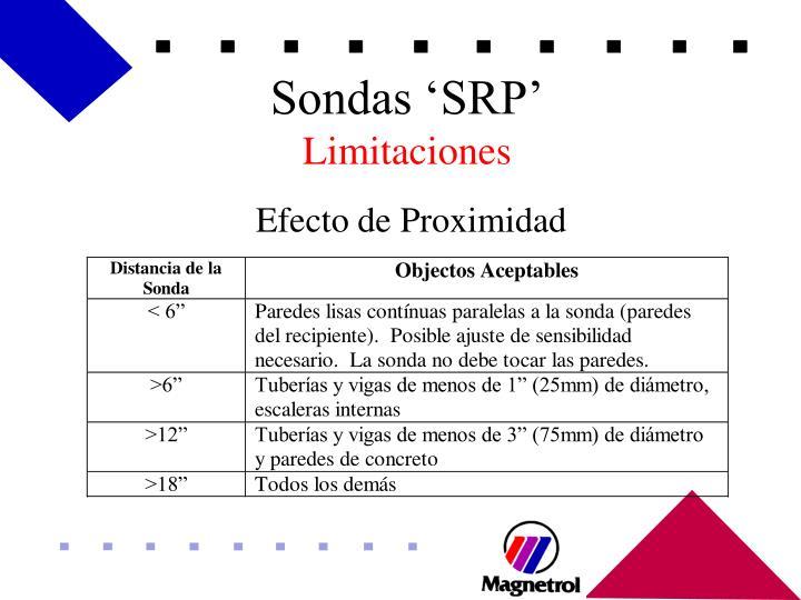 Sondas 'SRP'