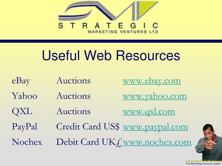 Useful Web Resources