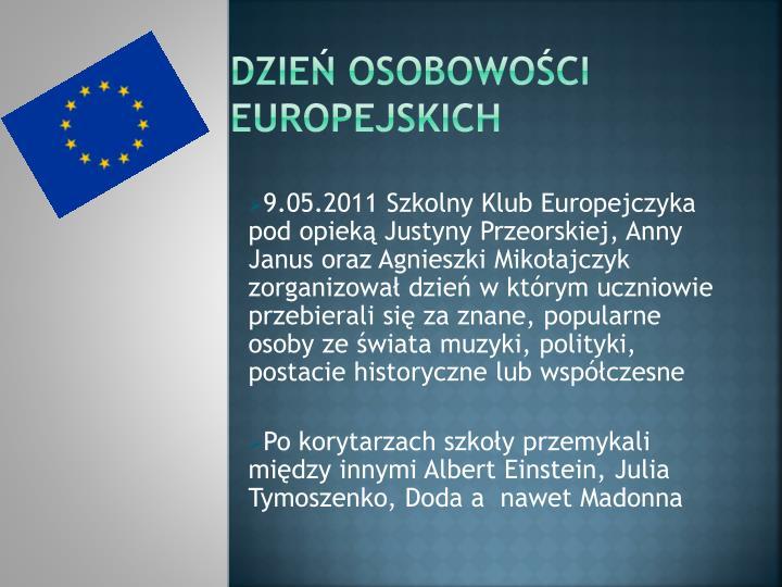 Dzień osobowości europejskich