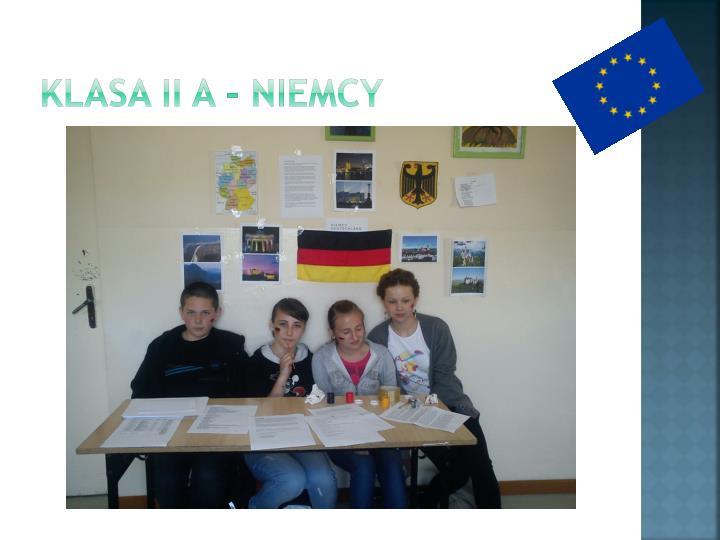 Klasa II A - Niemcy