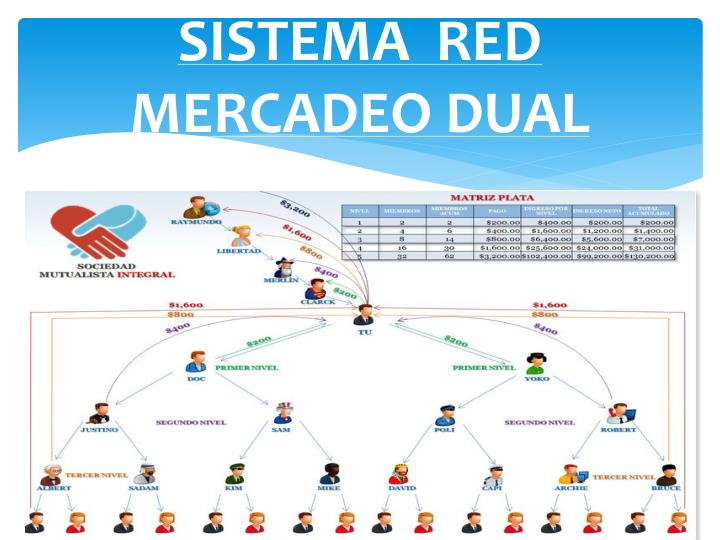 SISTEMA  RED  MERCADEO DUAL