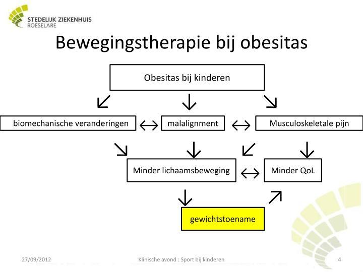 Bewegingstherapie bij obesitas
