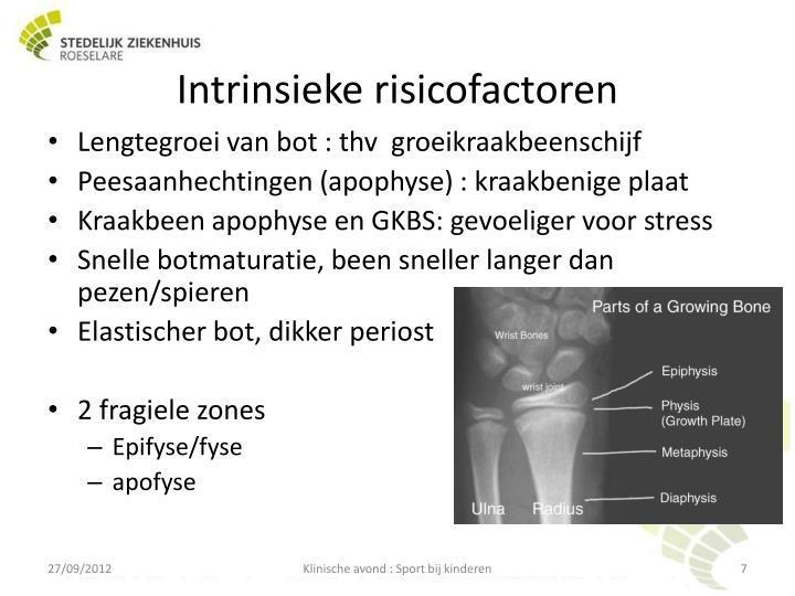 Intrinsieke risicofactoren