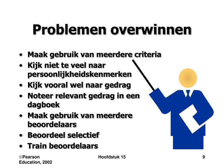 Problemen overwinnen