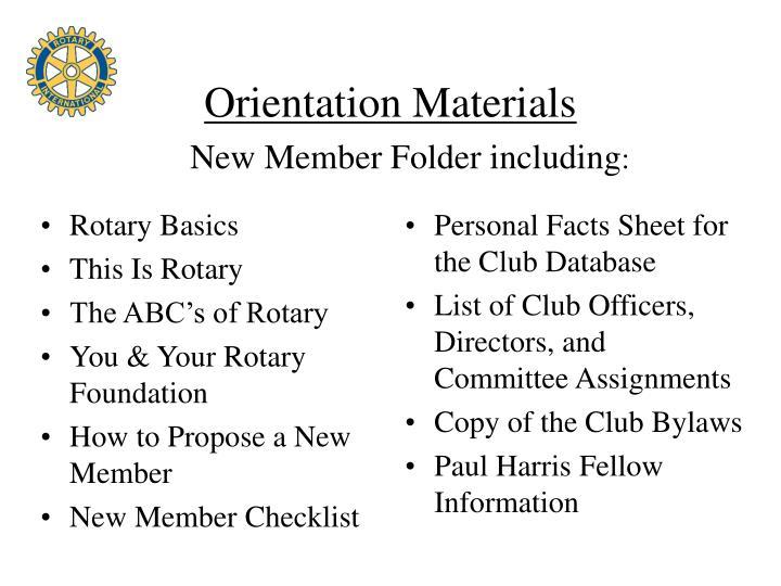 Rotary Basics