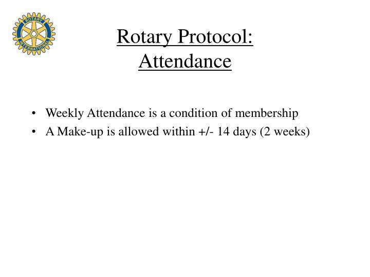 Rotary Protocol: