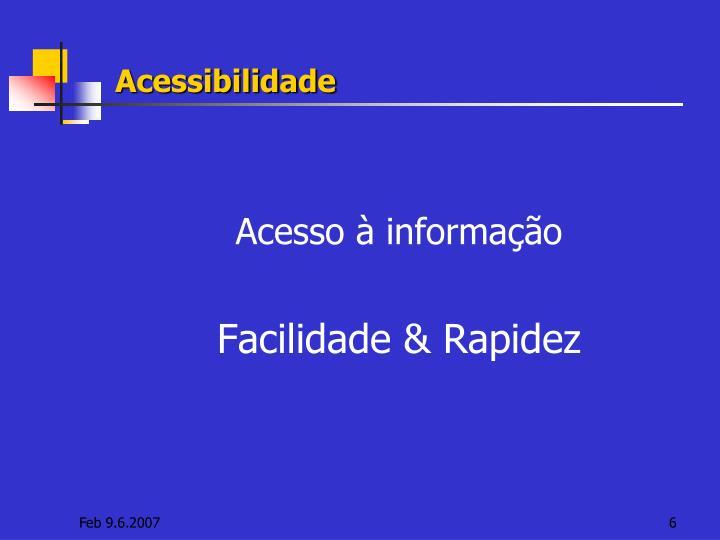 Acessibilidade