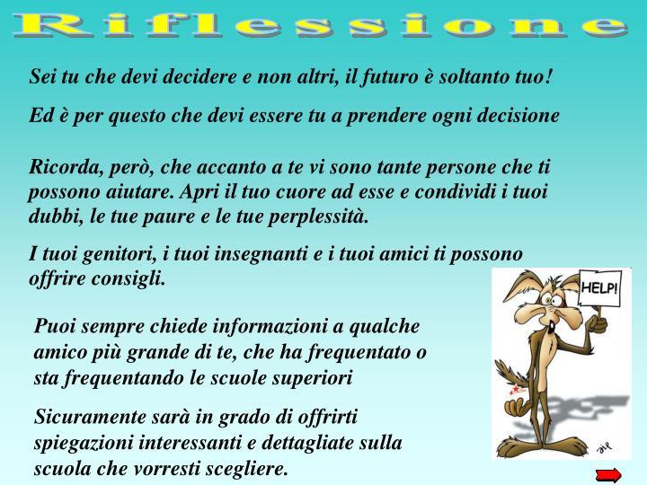 Riflessione