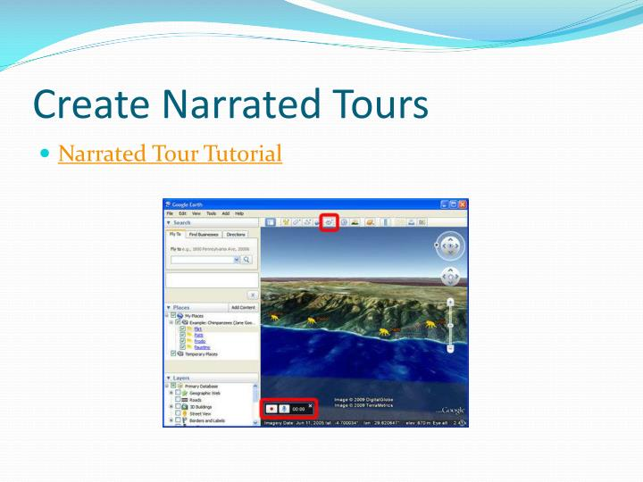 Create Narrated Tours