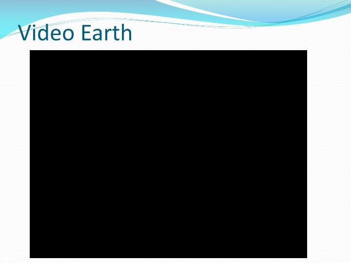 Video Earth