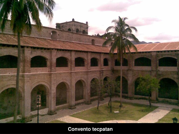 Convento tecpatan