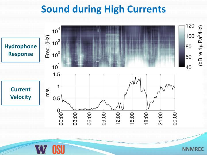 Sound during High Currents