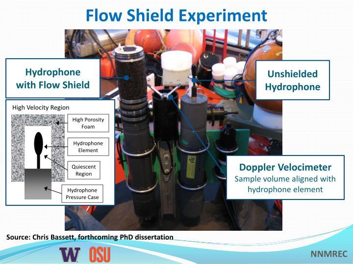 Flow Shield Experiment
