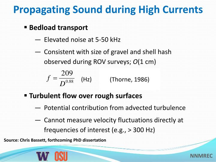 Propagating Sound during High Currents