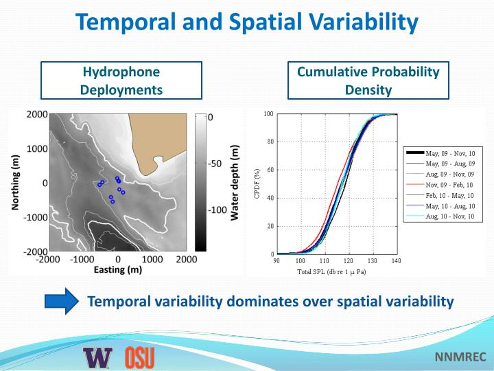 Temporal and Spatial Variability