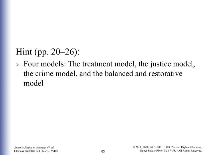 Hint (pp. 20–26):