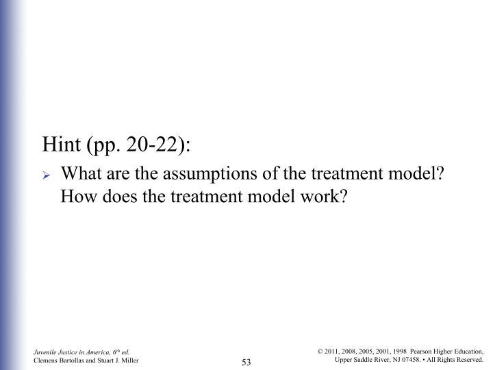 Hint (pp. 20-22):
