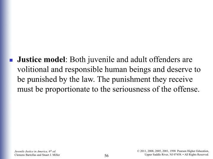 Justice model