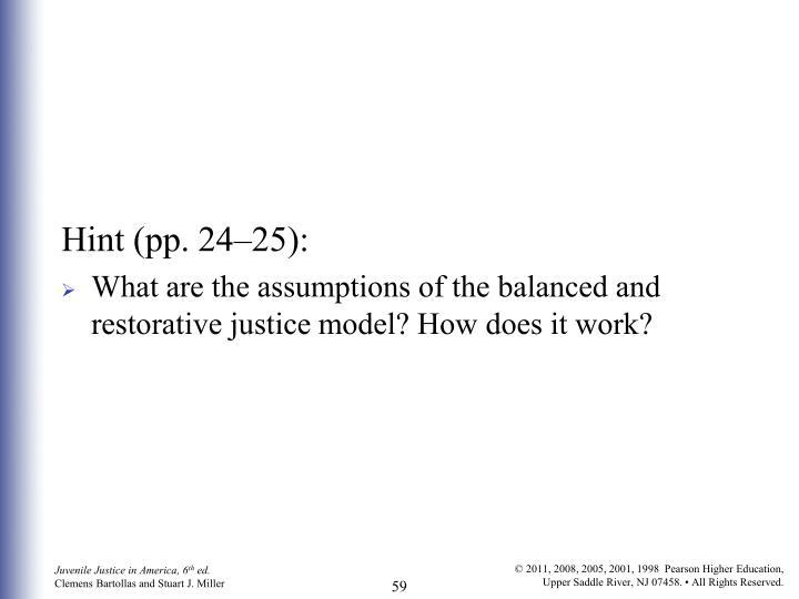 Hint (pp. 24–25):